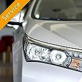 Automotive Headlight Conversion Kit Installation - In Store