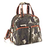 Lug Boxer Gym Overnight Bag, Camo Olive, One Size