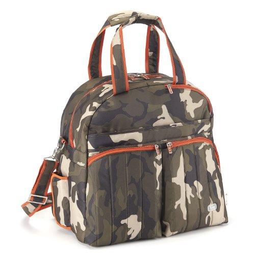Lug Boxer Gym Overnight Bag, Camo Olive, One Size by Lug