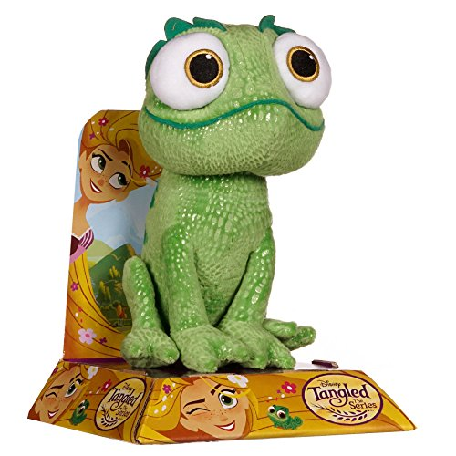 Posh Paws Disney 37059 Tangled Large Pascal Green Chameleon Plush