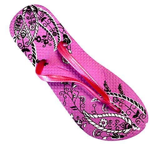 OCTAVE Ladies Summer Beach Wear Flip Flops Collection Various Styles &...