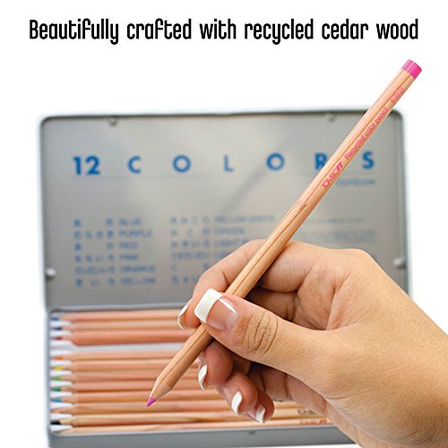 Tombow Recycled Colored Pencils, Assorted Colors, 12-Pack Photo #8