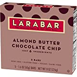 Larabar Gluten Free Bar, Cashew Cookie, 1.7 oz Bars (16 Count)