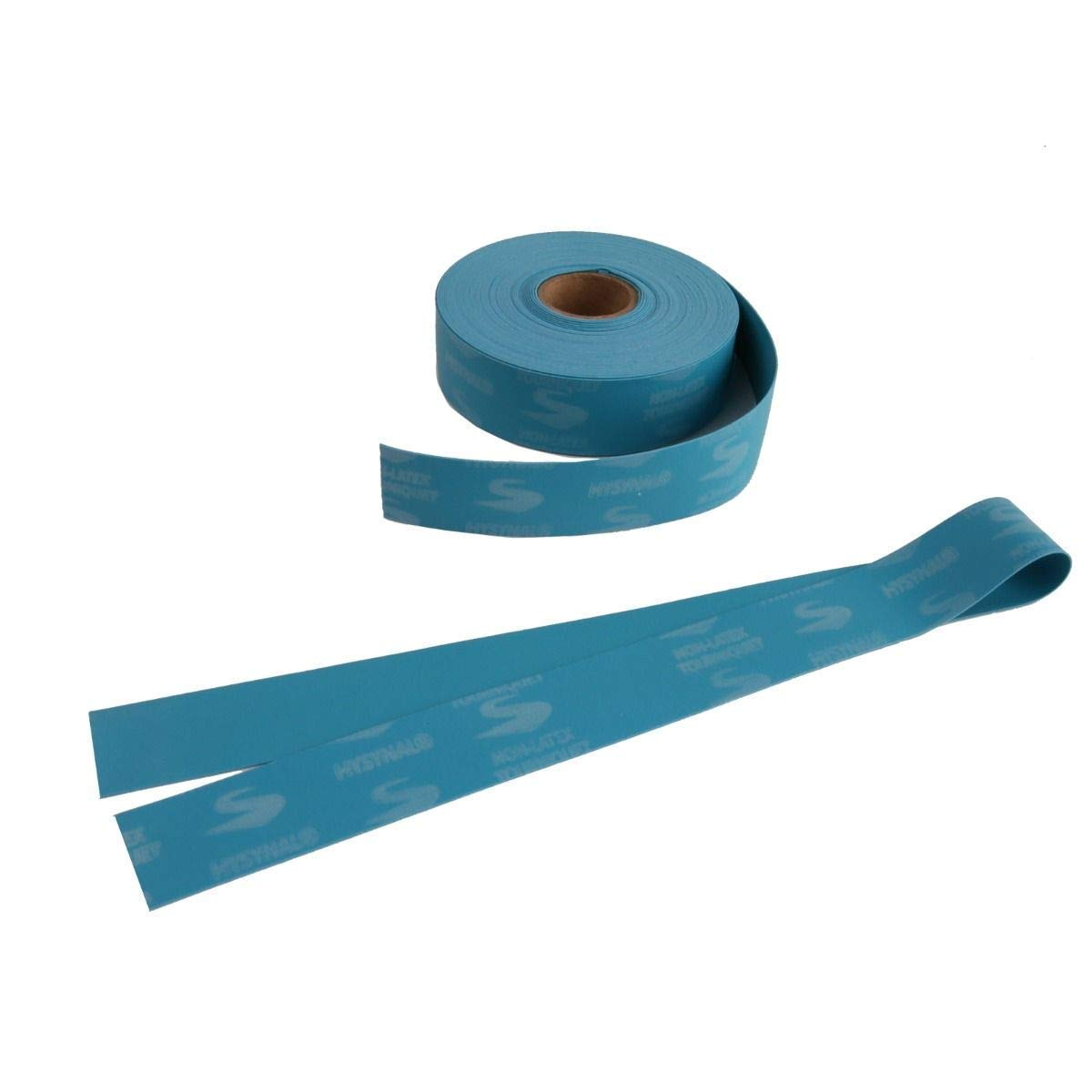 Hysynal Disposable Non-Latex Tourniquets, 100 Straps, 4 Reels of 25 Blue Disposable Tourniquet Straps for Drawing Blood