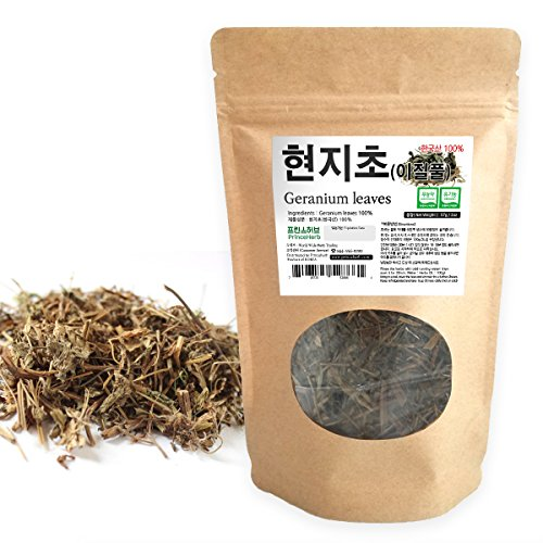 [ Medicinal Korean Herb ] Geranium Leaves (Tianzhukui/현지초) Dried Loose Leaves 2oz (57g)
