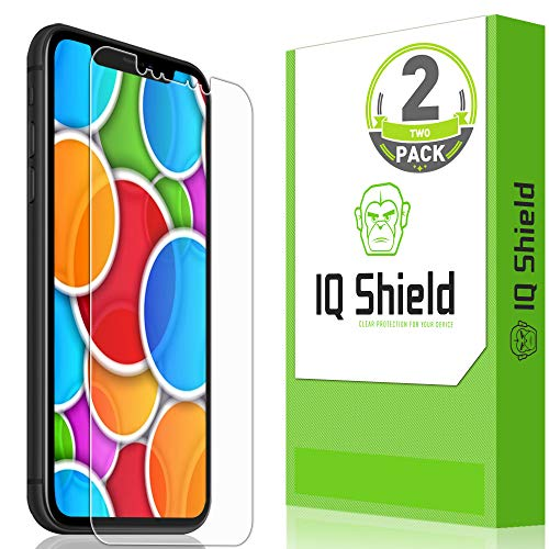 (Apple iPhone XR Screen Protector (2-Pack), IQ Shield LiQuidSkin Full Coverage Screen Protector for Apple iPhone XR [Max Coverage](6.1