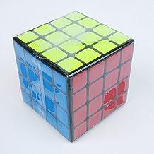 New Moyu 4x4x4 Mini Aosu Speed Cube 60mm Magic Cube Black