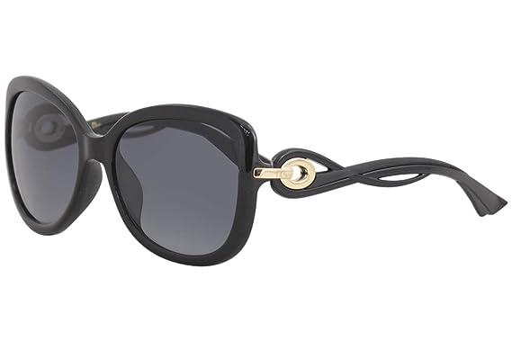 8ef3b0c209f Dior D28 Shiny Black Twisting Butterfly Sunglasses Lens Category 3 ...