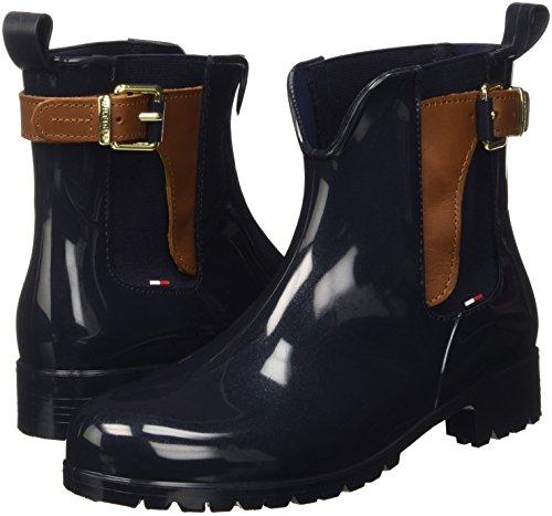 O1285xley Hilfiger Cognac midnight winter Multicoloured 403 Slouch Tommy Women''s 2z2 Boots USqq4wZ