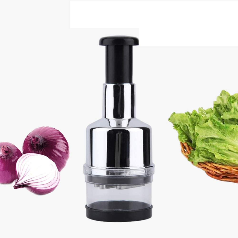 ANSHAN Multi-Function Kitchen Tool Fruit Tomato Food Manual Cutter Garlic Crusher Onion Chopper Vegetable Slicer