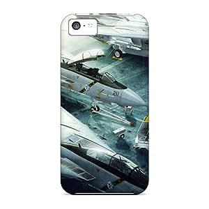 Unique Design Iphone 5c Durable Tpu Case Cover Grumman F 14 Tomcat