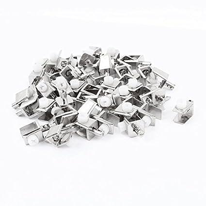 50 piezas de montaje en la pared 0.16-0.31 grueso tornillo ...