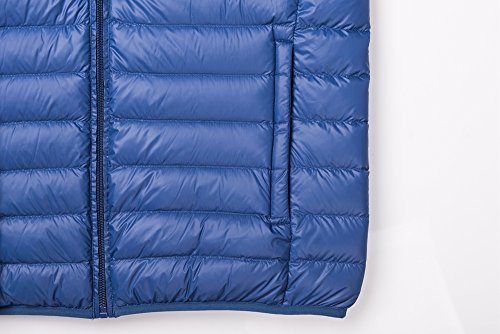 CHERRY Down Blue Nylon Jacket Packable Puffer CHICK Men's 77qTxfwgB