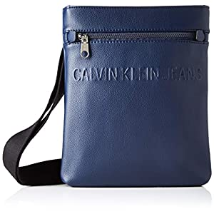 Calvin Klein Men's Micro Pebble Eu Flat Pack Shoulder Bag