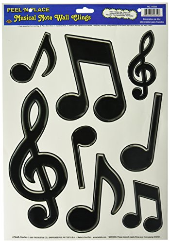 Musical Notes Place black Accessory