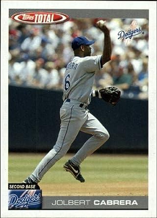 Amazoncom 2004 Topps Total Baseball Card 581 Jolbert