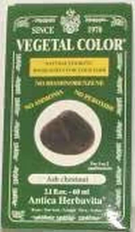 Novavis Vegetal Color Castaño Ceniza 60 ml - 100 g: Amazon.es ...
