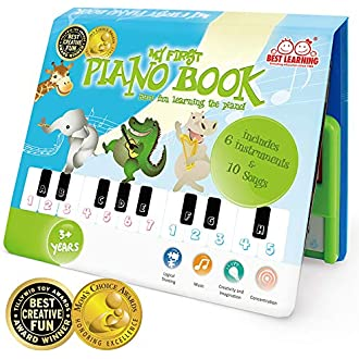 ceb23a0fa55a  15 BEST LEARNING My First Piano Book - Educational Musical Toy for Toddlers  Kids