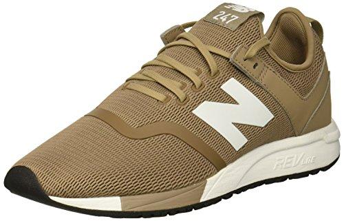 New Balance Men's 247v1 Sneaker, Mushroom, 8.5 D US