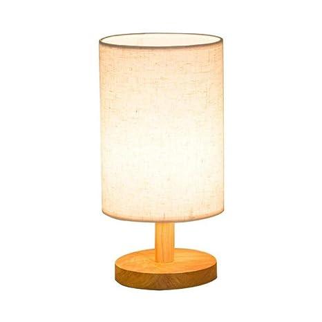 OUSENR Lámpara De Mesa Moderna Lámpara Vintage Sombra ...