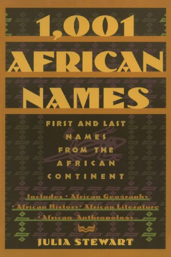 Books : 1001 African Names: First and Last Names from the African Continent