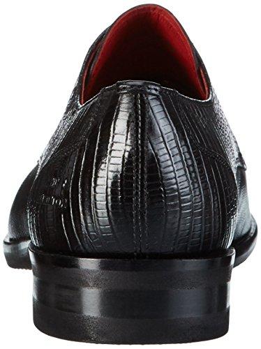 Melvin & HamiltonToni 1 - Zapatos Derby Hombre Negro - Schwarz (Guana Black/ Modica Black)