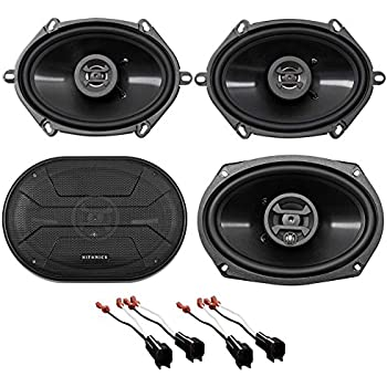 Fits Ford Crown Victoria 98-11 Front Door Replacement Speakers Harmony HA-R68
