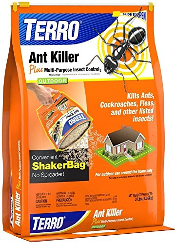 TERRO T901-6 Ant Killer Plus 3lb. Shaker Bag(2Pack) by Terro