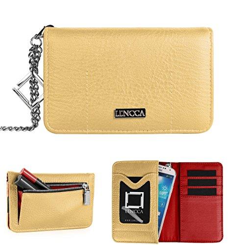 Lencca Kymira Wristlet Wallet Clutch For Sony Xperia Z2A / Z1 Compact / E1 / M2 / L (A) / ZL / Z / TX / T / SP / Sola / S / Neo L / J / Go / E Dual