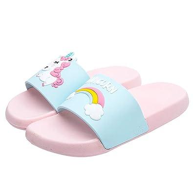 Amazon.com: Zapatillas para mujer con diseño de unicornio ...