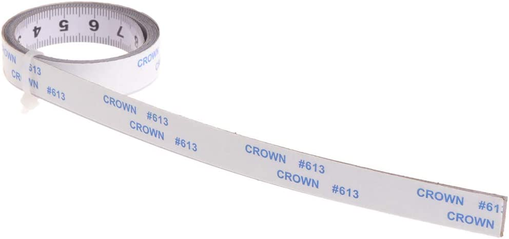 Mentin Self Adhesive Measuring Tape Right to Left Left to Right in The Middle of Both Sides 1//2//3//5 m