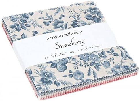 Moda tejidos – Snowberry – Charm Pack: Amazon.es: Hogar