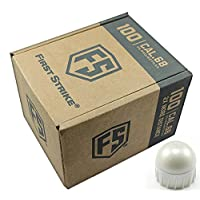 Tiberius Arms First Strike Paintballs (White, 100 count)