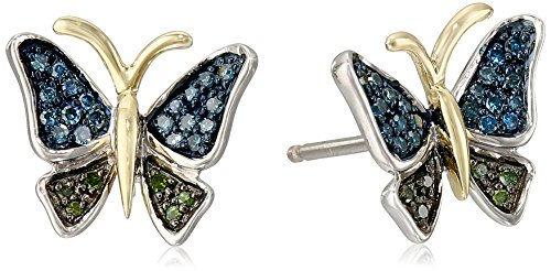 xpy-sterling-silver-and-14k-yellow-gold-butterfly-diamond-stud-earrings-1-10cttw-i2-i3-clarity