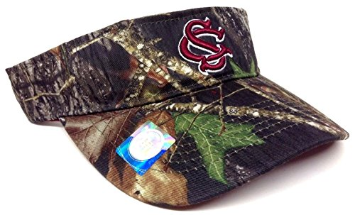 South Carolina Gamecocks Mossy Oak Camo Visor