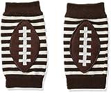Mud Pie Baby-Boys Football Knee Pads, Brown, 12M