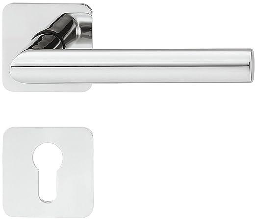 Moderna - Picaporte para puerta con roseta rectangular Juego ...