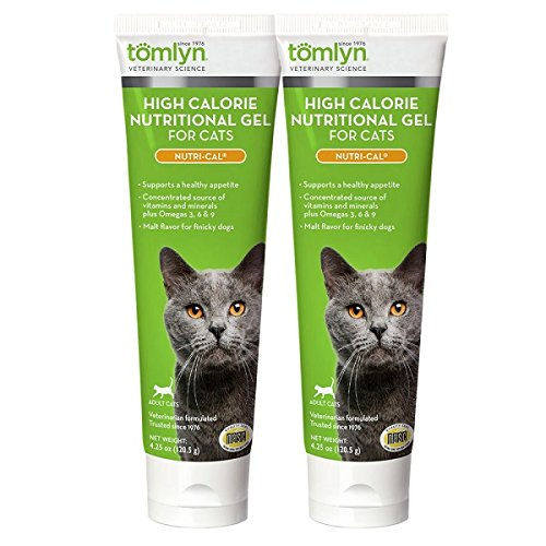 2-Pack Nutri-Cal for Cats High Calorie Dietary Supplement, 4.25-Ounce Tube by TOMLYN