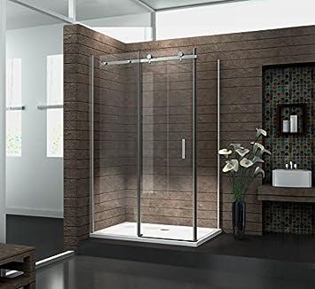 8 mm Designer Duschkabine Duschabtrennung Schiebetür Dusche Echt ... | {Duschabtrennung schiebetür 5}