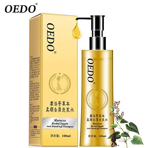- Morocco Herbal Supple Anti-Dandruff Shampoo Herbal With Hair Growth Serum Shampoo Treatment Liquid, 100ML