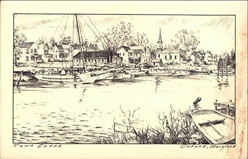 aryland Original Vintage Postcard (Creek Oxford)
