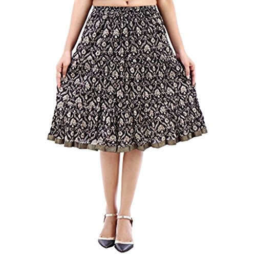 Skirt Multicolor Handicrfats Fashionable Export Indian Designer Short T0qFRY