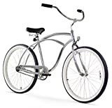 Firmstrong Urban Man Single Speed Beach Cruiser Bicycle, 26-Inch, Chrome