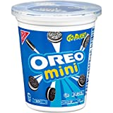 Oreo Mini Chocolate Sandwich Cookies - Go-Pak Cup, 3.5 Ounce (Pack of 12)