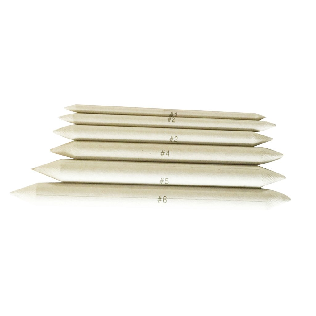 Fityle 6 Pieces Dedicated Sketch Paper Pen Paper Erase Marker for Art Painting Supplies