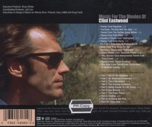 Music For The Movies Of Clint Eastwood by WEA/Reprise