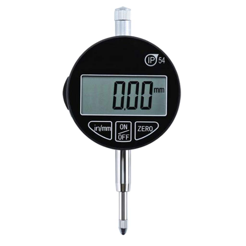 perfk Resolution 0.001 mm Digital Dial Indicator Probe Indicator Dial Metalworking Inspection