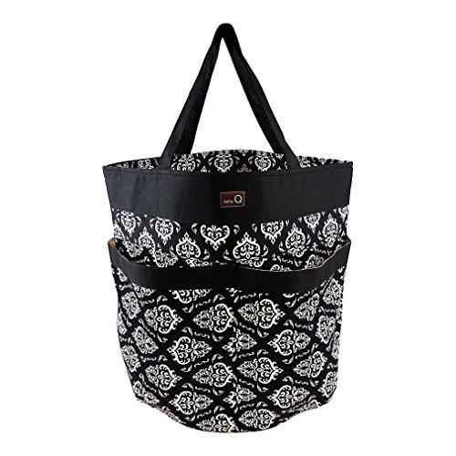 della Q Tess Yarn Storage & Knitting Caddy Bag (12'' W x 14'' H); 109 Columbia 340-1-109 by della Q
