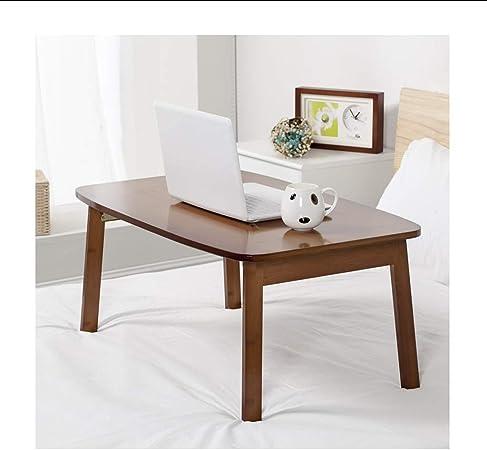 Mesa plegable portátil Mesa de escritorio Cama de desayuno Bandeja ...