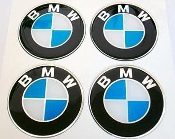 BMW Pegatinas para buje Tapa en Aluminio Llantas y Tapacubos 60 mm: Amazon.es: Coche y moto